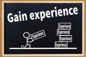 経験を積む